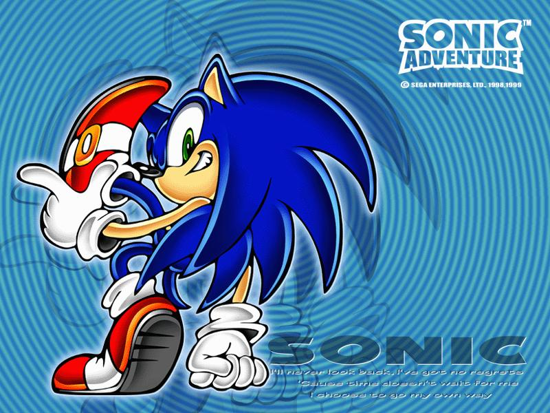 wallpapers sonic. Sonic Adventure 1 amp; 2
